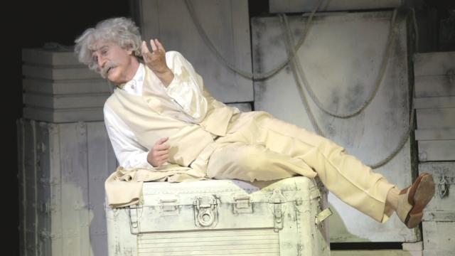 Val Kilmer es Mark Twain en  'Citizen Twain', que se estrena el viernes.
