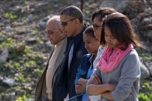 """Obama """"conmovido"""" tras visitar prisión donde estuvo Mandela"""