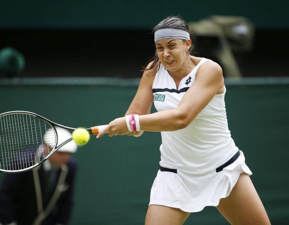 Francesa Bartoli se mete a la final de Wimbledon
