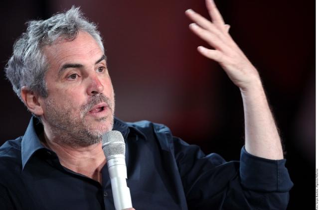 Alfonso Cuarón presentó 'Gravity'