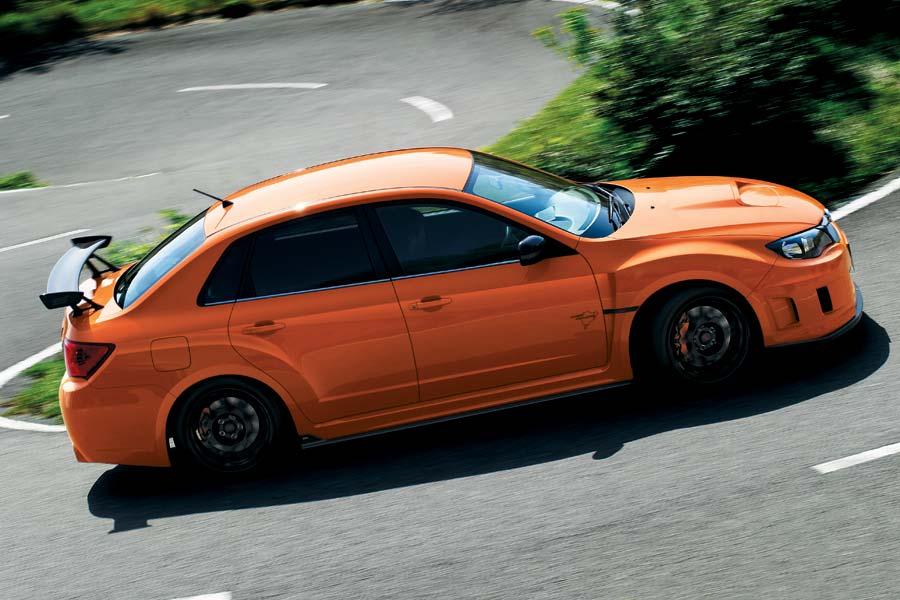 Subaru WRX  más deportivo con el toque de STI-tS
