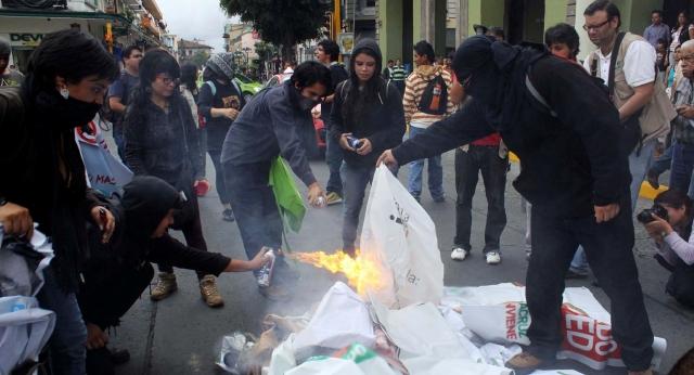 Caos en vísperas de elecciones en México