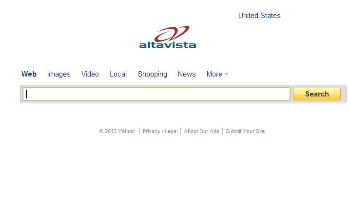 Altavista se despide de internet para siempre