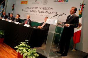 Pirelli invierte  más en México