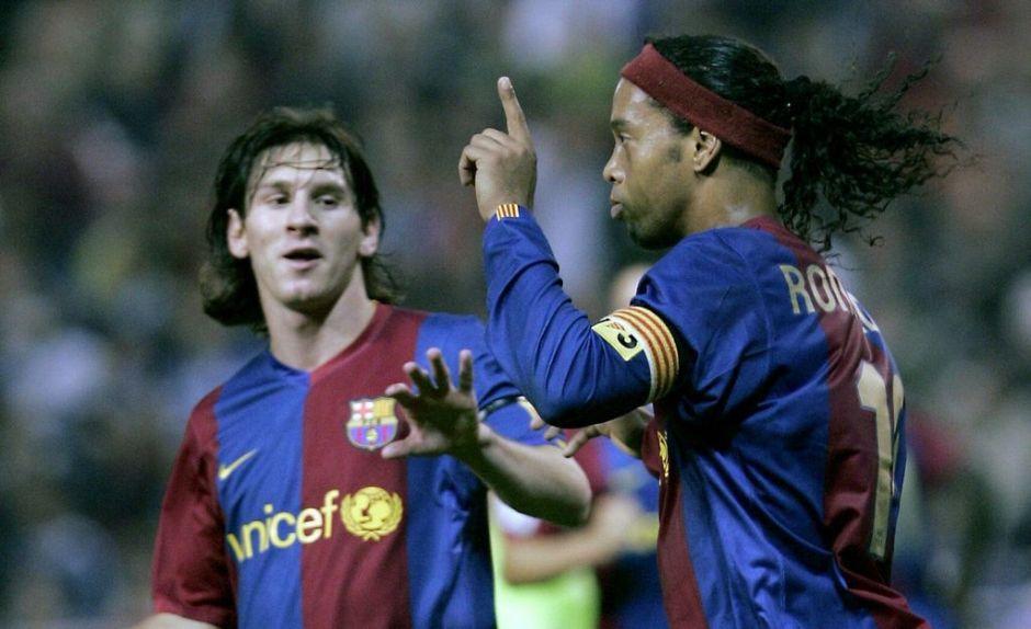 La emotiva carta de Ronaldinho y el gran consejo que dio a Messi