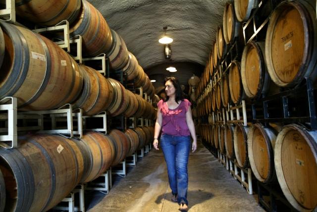 Lidia Maldonado es parte de una familia inmigrante que ahora se dedica a la producción de vinos en el Valle de Napa.