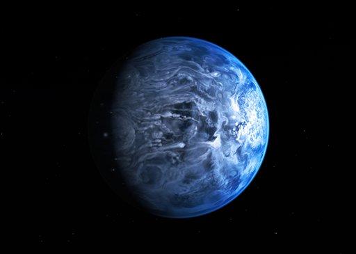 El planeta está lleno de gas y temperaturas no aptas para la vida.