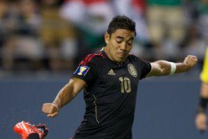 México ya gana 1-0 a Martinica, al primer tiempo