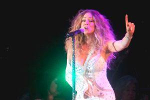 Mariah Carey llena Central Park por víctimas de Sandy