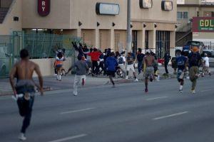 Protestas contra Zimmerman en California se tornan violentas