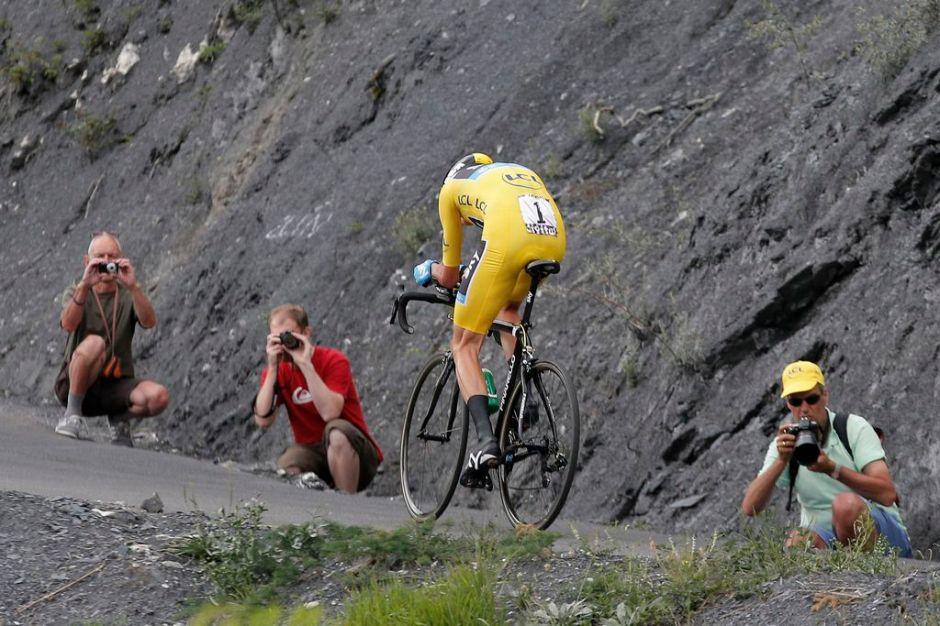 Alpe d'Huez espera un millón de espectadores (Fotos)