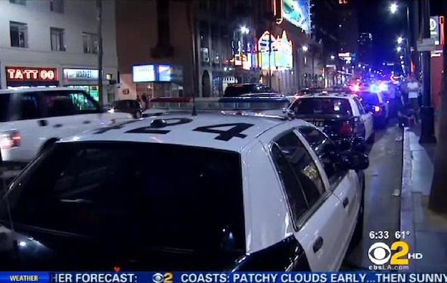 Grupos de jóvenes roban y saquean en Hollywood