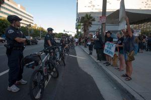 Cuarto día de protestas en LA en apoyo a Trayvon Martin