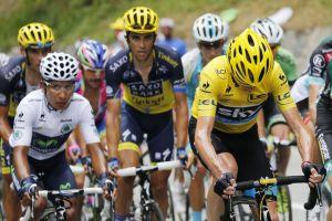 Crisis de líder da ánimo a Contador