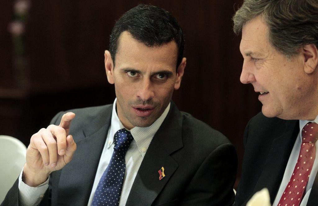 Piñera recibirá a Capriles con cena privada