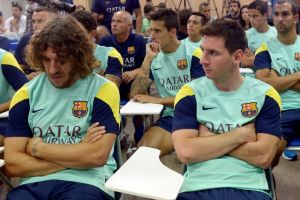 Tito deja timón del Barcelona