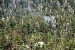 Autoridades suspenden evacuación por incendio en California