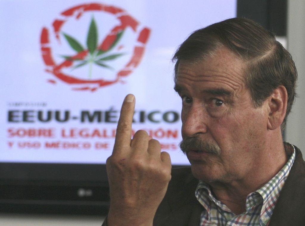 Expresidente Fox insiste en la marihuana medicinal