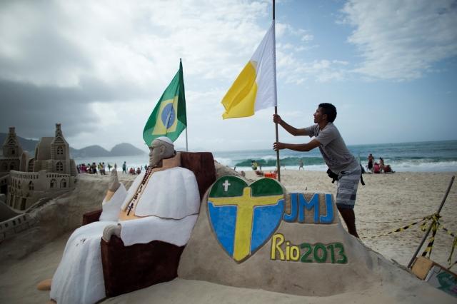 Brasil espera hoy al Papa