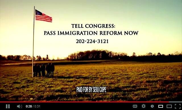 Tema migratorio provoca guerra de anuncios