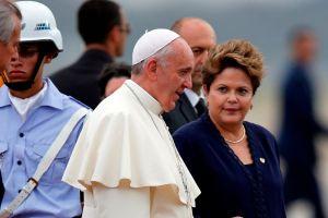 Papa Francisco llega a Río de Janeiro  (en vivo)