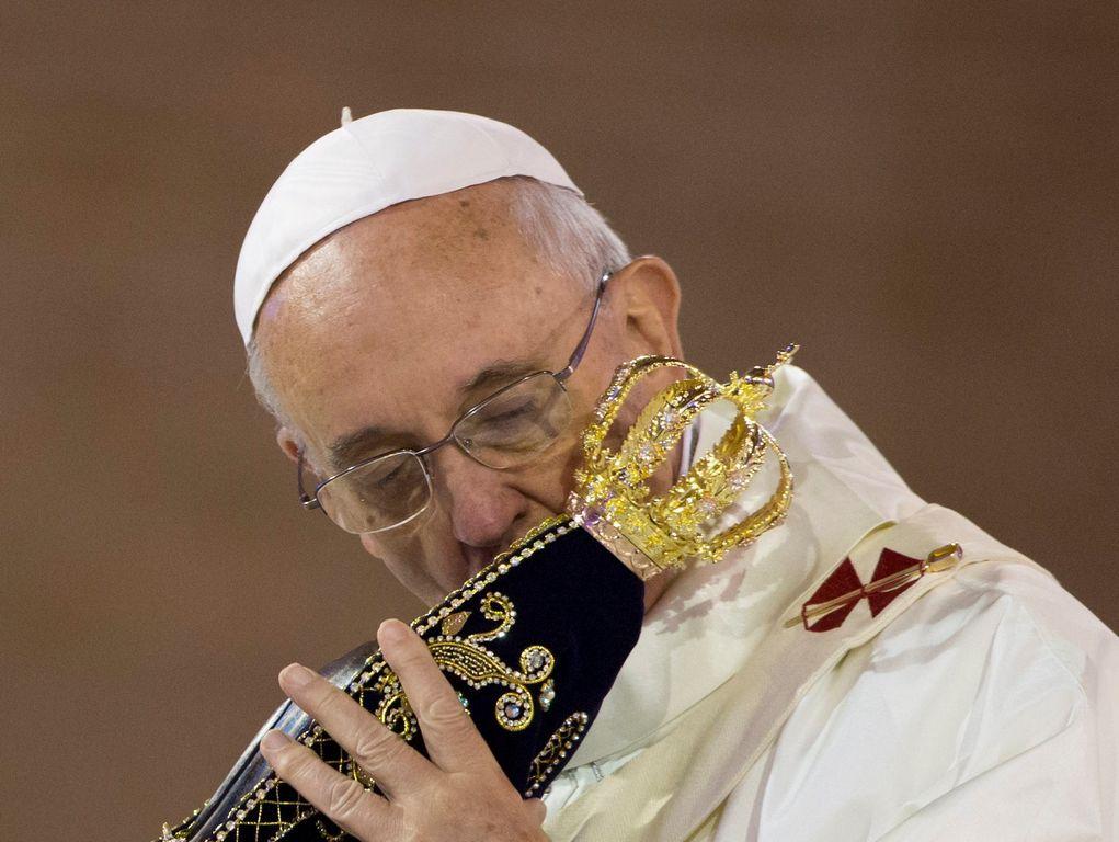 """Papa Francisco: """"Les pido que recen por mí"""" (fotos y video)"""
