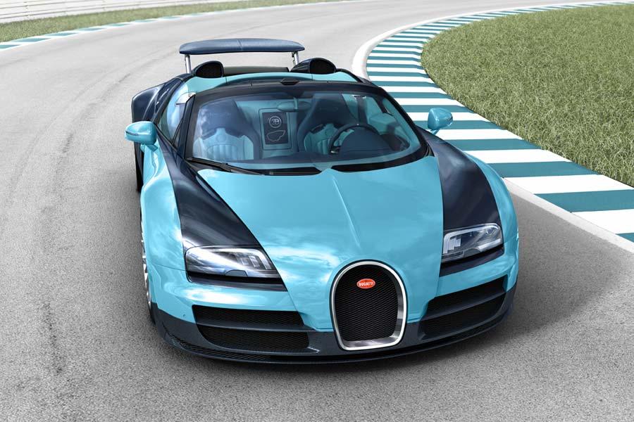 Bugatti homenajea a las leyendas del automovilismo