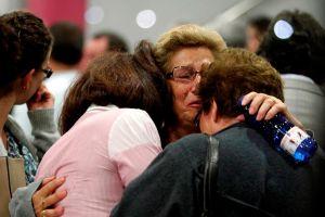Sube a 77 cifra de muertos por accidente en España (fotos)
