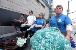 Trabajadores de hotel JW Marriott protestan en LA