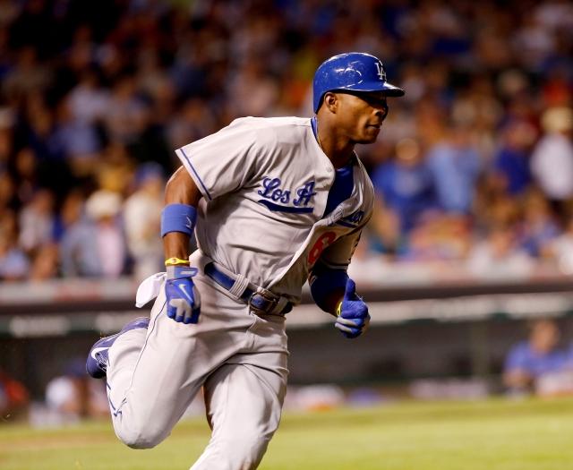 Puig da  triunfo a Dodgers