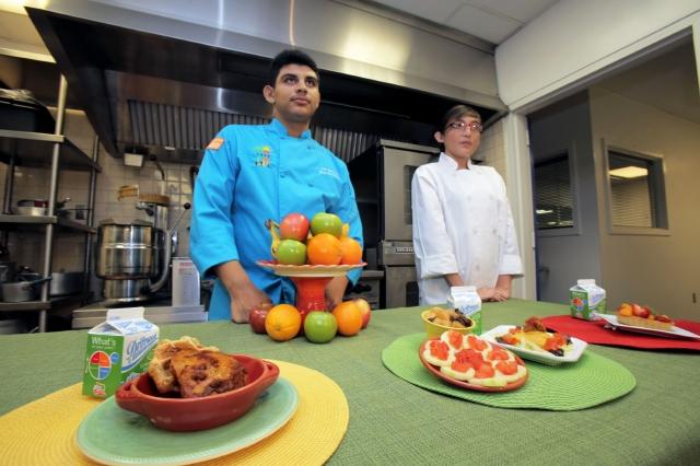 Escuelas de Los Ángeles tienen un nuevo menú