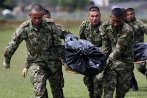 Golpe a las  FARC