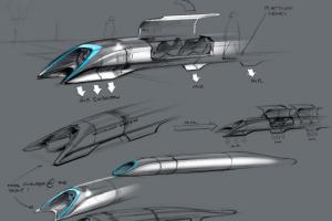 Tesla imagina 'Hyperloop' el transporte del futuro
