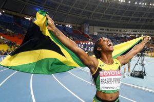 Fraser-Pryce:Vuela en los 100m