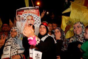 Liberan a 26 reos palestinos