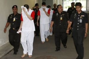 A un paso de la horca hermanos mexicanos en Malasia