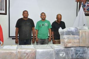 Quisqueya incauta 343 kilos de cocaína y más de $1 millón