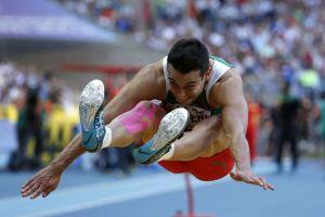 Mexicano Rivera gana bronce en salto largo (Video)