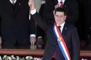 Horacio Cartes ya es presidente