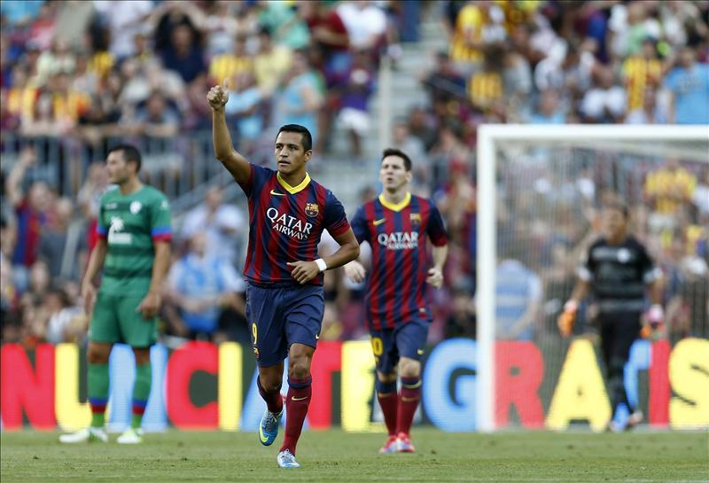 Barcelona empieza torneo con goliza al Levante (fotos y video)