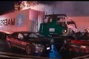 Reabren autopista 10 tras accidente mortal