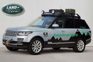 Range Rover muestra su lado híbrido