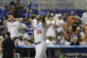 Puig sale del hoyo y da triunfo a Dodgers (Video)