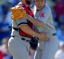 Rompe Boston racha a Dodgers