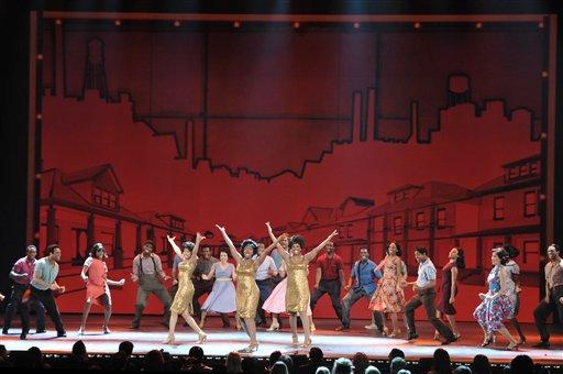 'Motown' fue una de las ganadoras en los premios TONY 2013.