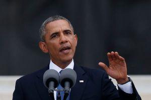 Obama abraza el sueño de Luther King y su lucha (Video)