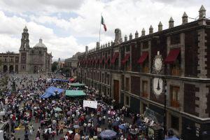 Magisterio desquicia capital mexicana (Fotos)
