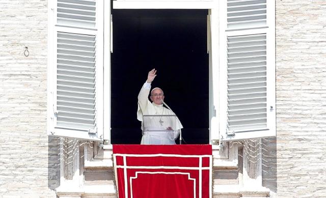 El Papa pide la paz para Siria