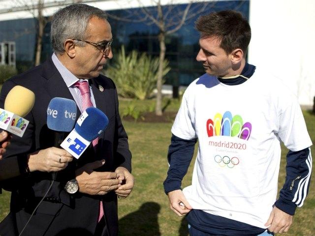 Messi apoya candidatura de Madrid para Juegos Olímpicos