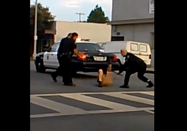 Habla hermana de hombre golpeado por policías en Long Beach